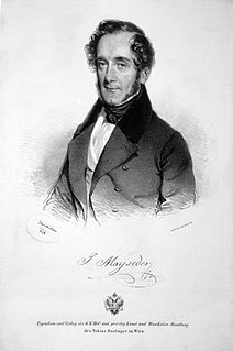 Joseph Mayseder Austrian violinist and composer.