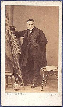 Le Peintre Joseph Nicolas Robert Fleury Annes 1860