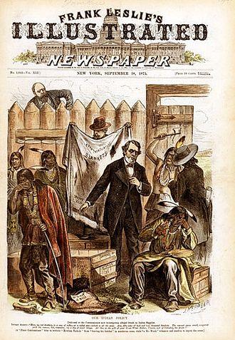 Frank Leslie's Illustrated Newspaper - Image: Joseph Ferdinand Keppler 01