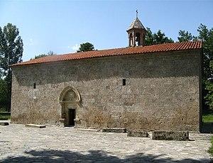 Religion in Azerbaijan - Albanian church in Nij