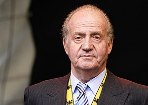 This picture shows Juan Carlos I who is King o...
