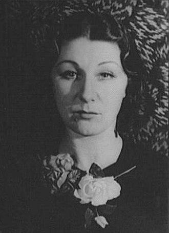 Judith Anderson - Anderson in 1934