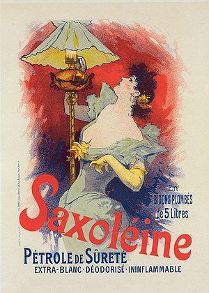Les Maîtres de l'Affiche - Image: Jules Chéret Saxoléine