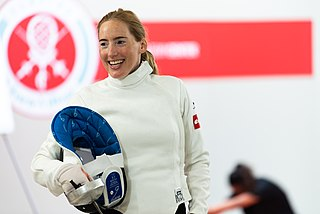 Julianna Révész Hungarian fencer