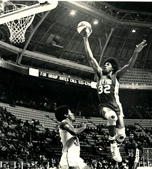 Julius Erving - Erving in 1974