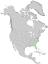 Juniperus virginiana var silicicola range map 0.png