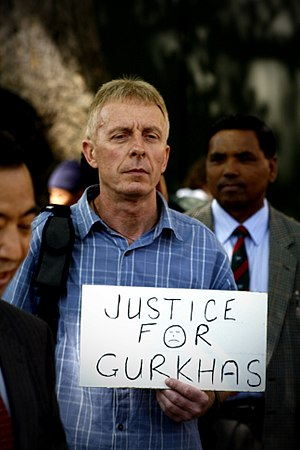 Gurkha Justice Campaign - A Justice For Gurkhas rally, 2009