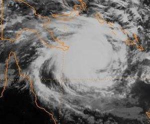 Cyclone Justin - Image: Justin 97
