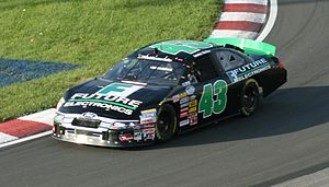 Justin Marks - Marks during qualifying for the 2010 NAPA Auto Parts 200 at Circuit Gilles Villeneuve