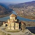 Jvari Monastery in winter.jpg