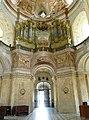 Křtiny, kostel Jména Panny Marie - interiér (6).JPG