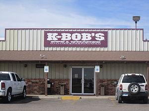 K-Bob's Steakhouse - K-Bob's Steakhouse in Tinsley's hometown, Lamesa, Texas