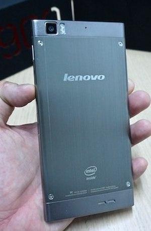 Lenovo smartphones - K900Back