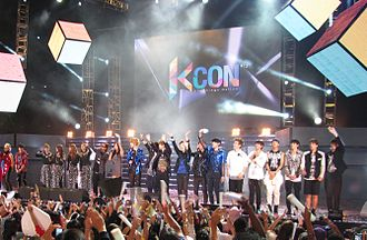KCON (music festival) - Artists on stage at KCON 2012