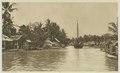 KITLV - 26884 - Kleingrothe, C.J. - Medan - Sungai Deli in Labuan, East Coast of Sumatra - circa 1905.tif