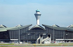 Sepang District - Image: KLIA MTB&Tower