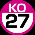 KO-27 station number.png