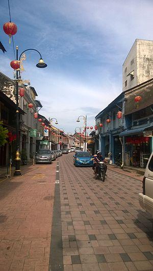 Chinatown, Kuala Terengganu - A view of Kampung Cina.