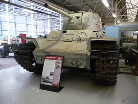 KV-1 heavy tank in the Bovington Tank Museum.jpg