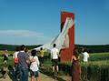 Kačírková, Kaple I, odhalování 30.6. 2010.png