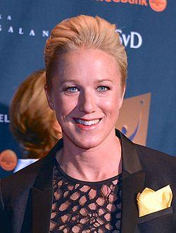Kajsa Bergqvist på Idrottsgalan 2013.jpg