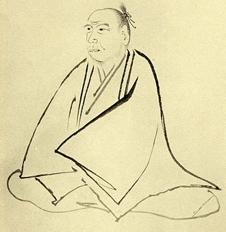 Kamo no Mabuchi - Mabuchi's portrait by his student
