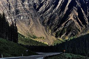 Kananaskis Country - Highway 40 in the Kananaskis Valley, Alberta