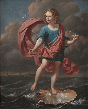 Karel Dujardin - Image: Karel Dujardin Boy Blowing Soap Bubbles. Allegory on the Transitoriness and the Brevity of Life Google Art Project