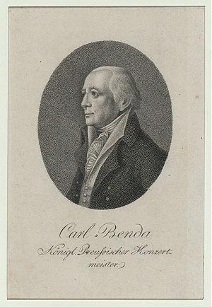 Karl Hermann Heinrich Benda - Karl (Carl) Hermann Heinrich Benda