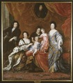 Karl XI, 1655-1697, kung av Sverige med familj (David Klöcker Ehrenstrahl) - Nationalmuseum - 16034.tif