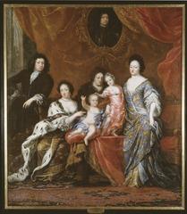 Karl XI, 1655-1697, kung av Sverige med familj