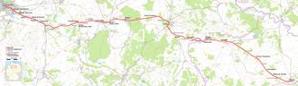America Line - Route of the America Line