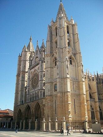 León, Spain - León Cathedral