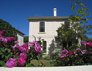 Architecture of New Zealand - Katherine Mansfield birthplace