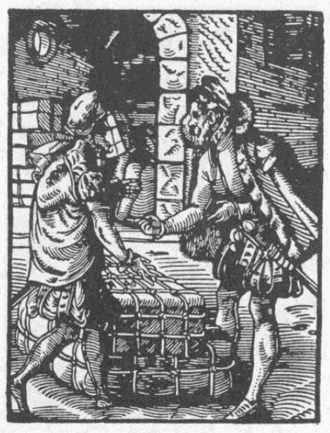 Trade - A trader in Germany, 16th century