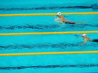 Hrafnhildur Lúthersdóttir swimmer