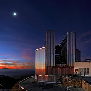 New Technology Telescope - Image: Keeping cool at La Silla