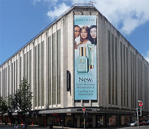 House of Fraser - The Art Deco Kendals building on Deansgate, Manchester – a House of Fraser store since 1959