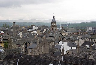 Kendal town and civil parish in South Lakeland, Cumbria, England