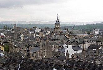 Kendal - Image: Kendal roofscape