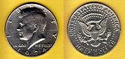 Kennedy Half Dollar, 1974