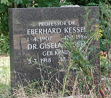 Eberhard Kessel – Wikipedia