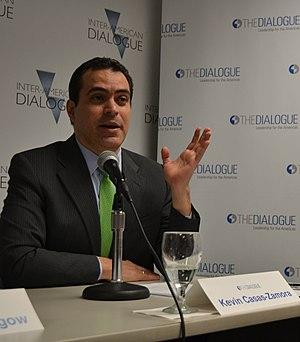 Kevin Casas Zamora - Casas-Zamora at the Inter-American Dialogue