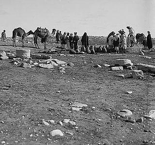 Village in Beersheba, Mandatory Palestine