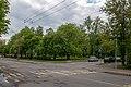 Kijeŭski skver — Kyiv square (Minsk, Belarus).jpg