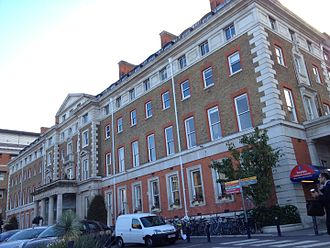 King's College Hospital - King's College Hospital main entrance