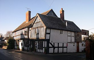 Pembridge - The former Greyhound Inn in East Steret, now the King's House restaurant