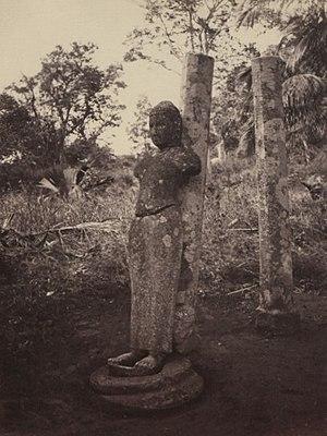 Devanampiya Tissa of Anuradhapura - Mihintale Stone Statue of King Tissa
