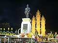 King Mengrai Statue at night - panoramio.jpg