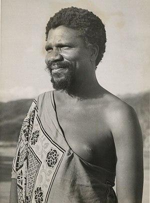 King Sobhuza II, 1945 (cropped).jpg